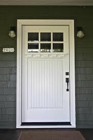 white craftsman front door. Brilliant Craftsman White Front Door In Doors Decor 12 Inside Craftsman C