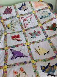 Butterfly hankie quilt | Quilts | Pinterest | Butterfly ... & Hankie quilt Adamdwight.com