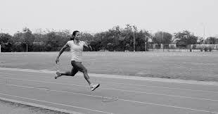 Women sports nude running