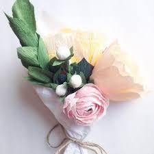 Paper Flower Wedding Decorations Paper Flower Arrangement Wedding Centerpiece Paper Flowers