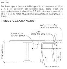 height of dining room table. height of dining room table stunning decor standard with l