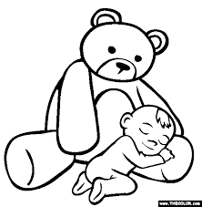 Small Picture Infant Coloring Pages Baby Coloring Page nebulosabarcom