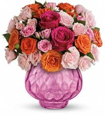 teleflora s sweet fire bouquet with roses in huntsville on cote country flowers cad 106 95 same day flower deliveryroses
