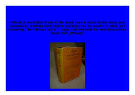 Download _p D F Truth Of The Stock Tape A Study Of The