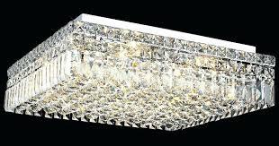 crystal light fixture elegant lighting crystal square flush mount ceiling fixture crystal light fixture for ceiling crystal light fixture