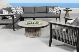 cove rope outdoor sectional patio furniture set