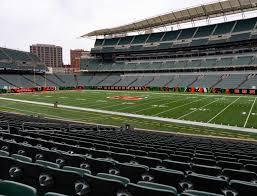 Paul Brown Stadium Section 106 Seat Views Seatgeek
