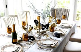 Karin Lidbeck New Years Eve Party Decor Dinner Table Decoration Ideas ...