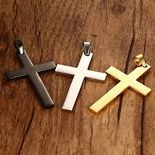 cross necklaces pendant for men
