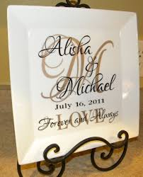 personalized wedding gift couple s names and initial vinyl letters and silhouette machine
