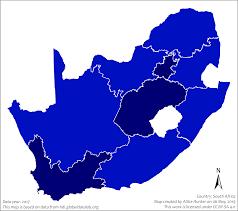 İnsani Gelişme Endeksi'ne göre Güney Afrika Cumhuriyeti bölgeleri listesi -  Vikipedi
