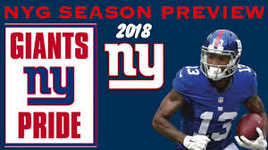 Giants Depth Chart 2018 New York Giants Full Season Preview 2018 Depth Chart Storylines Predictions