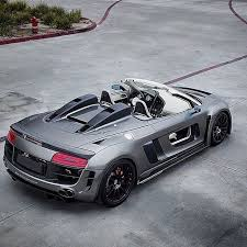 black audi r8 convertible. image via 2013 audi convertible from the team over at regula tuning gorgeous matte black r8 l
