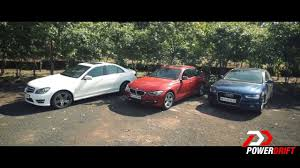 BMW Convertible bmw vs mercedes drift : Audi A4 vs Mercedes Benz C class vs BMW 3 series : Review ...
