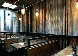 corrugated metal panels for interior walls garage photo of sheet ceiling pan