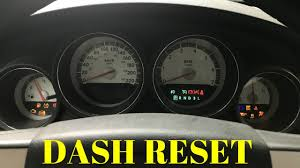 how to 8 reset cluster gauge dashboard 2006 2010 dodge charger  at 2010 Dodge Charger Gear Selector Wire Connection Diagram