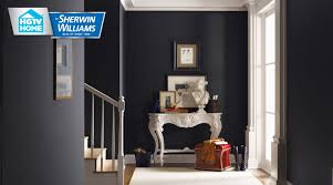 Tricorn Black Sherwin Williams Traditional Twist Wallpaper Collection Hgtv Home By Sherwin