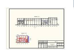 Курсовой проект Промышленное здание Промышленные здания  чертеж Курсовой проект