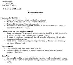 Example Of Technical Skills On Resume A Sample Skills Based Resume ...