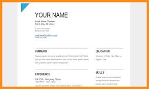 Google Docs Resume Templates Extraordinary Google Docs Resume Template Free Business Template Idea