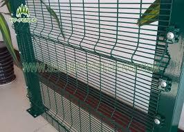 welded wire fence panels. Modren Fence Anti Climb Welded Wire Fence Panels With 3D Fold High Security Razor  Top To