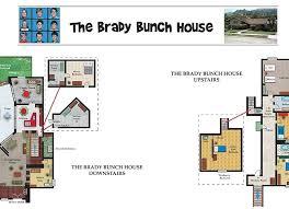 brady bunch house floor plans blueprint of the bunch house brady bunch house floor plan