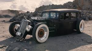 Here's a V12 1933 Chevy hotrod pumped with German flair
