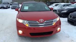 Pre Owned Red on Ivory 2011 Toyota Venza 4dr Wgn AWD Review ...
