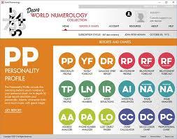 Easy Numerology Chart World Numerology App Free Reading World Numerology