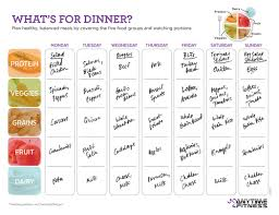menu planner worksheet a simple meal planning worksheet to make dinner better