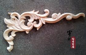 furniture motifs. Dongyang Wood Carving Fashion Corners Carved Motif Shavings Smd Furniture Door Cabinet Applique 33 17-in Figurines \u0026 Miniatures From Home Motifs F