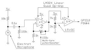 how to make a clap clap on clap clap off switch circuit 6 steps step 3 the signal amplifier and comparator