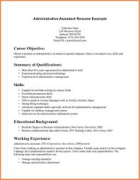 Social Sciences Administrative Support Resume Hr Admin Assistant