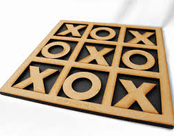 Wooden Naughts And Crosses Game Tic Tac Toe Wooden Game Wave100Africa online gifts decor 2