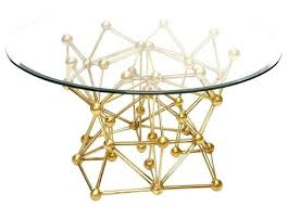 full size of gold leaf table diy tabletop dining base worlds away molecule round coffee glass