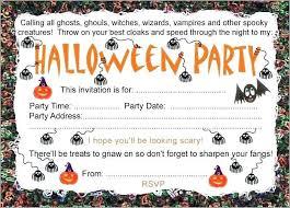 Free Halloween Birthday Invitation Templates Free Halloween Invitation Templates Formula1motor Com