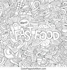 Coloring Pages Food Coloring Pages Food Web Page Chain X Simple
