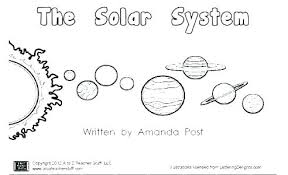 Solar System Coloring Sheets Uticureinfo