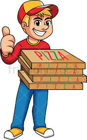 pizza delivery clipart. Brilliant Delivery Pizza Delivery Boy Thumbs Up PNG  JPG And Vector EPS Infinitely Scalable And Delivery Clipart FriendlyStock