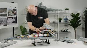 Lego Star Wars Designer Videos Lego Star Wars Ucs 75252 Imperial Star Destroyer Designer