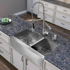 APRON2420SR16  Nantucket Sinks USAFarmhouse Stainless Steel Kitchen Sink