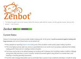 It has claimed a 1.531 our zenbot review helps you answer these questions. Ultimate Guide To The Best Bitcoin Trading Bots 2021 Do They Work