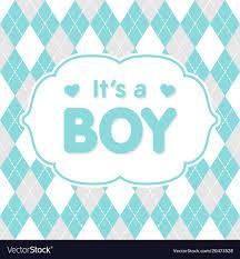 Congratulations For A Baby Boy Its A Boy Congratulation Baby Card