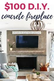 room styles small indoor electric fireplace valentine s day decoration diy concrete fireplace for less than