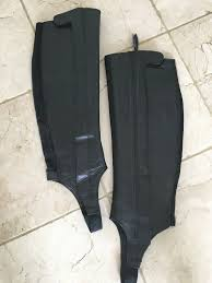 Pair Of Black Ariat Riding Half Chaps Size Extra Slim Tall In Porthcawl Bridgend Gumtree