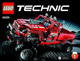 Lego Customized Pick Up Truck Instructions 42029 Technic