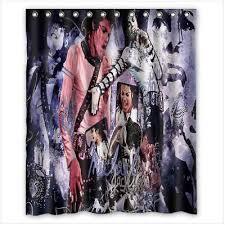 wonderful gift shower curtain Michael Jackson size (60\ WONDERFUL GIFT SHOWER