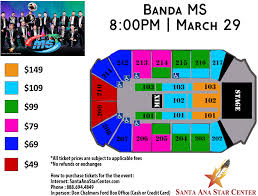 Santa Ana Star Center Seating Chart Rio Rancho Events