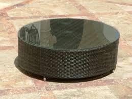 resin wicker side table outdoor round wicker coffee table resin wicker patio side table