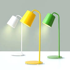 office table lamps. Yellow Lamp Shade Office Table Lamps Modern Simple Desk  Iron Eye Study Reading Work Led Target Threshold Office Table Lamps